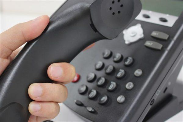 折り返しの電話は必ず取る事