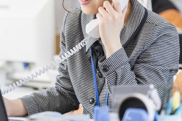 電話連絡の画像